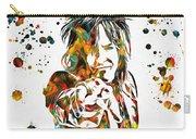 Nikki Sixx Paint Splatter Carry-all Pouch
