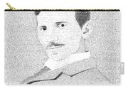 Nikola Tesla In His Own Words Carry-all Pouch