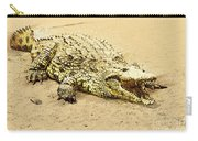 Nile River Crocodile Carry-all Pouch