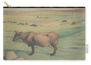 Nils Kreuger, 1858-1930, Cow In The Meadow Carry-all Pouch