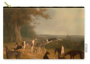 Nine Greyhounds In A Landscape Carry-all Pouch