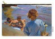 Ninos En La Playa. Valencia Carry-all Pouch