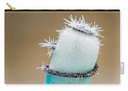 Hoar Frost Crystal Carry-all Pouch