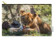 Lion Cub Lick Carry-all Pouch
