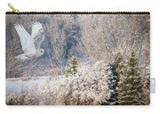 Snowy Owl Flight Carry-all Pouch