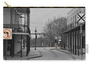 No Left Turn - Selective Color Carry-all Pouch
