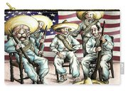 No Mexican Wall, Mister Trump - Political Cartoon Carry-all Pouch