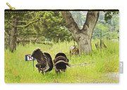 No Parking Wild Turkeys Carry-all Pouch