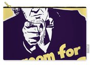 No Room For Rumors - Uncle Sam Carry-all Pouch