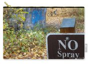 No Spray Painting Carry-all Pouch