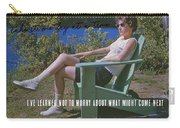 No Worries Quote Carry-all Pouch