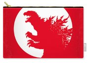 No029-1 My Godzilla 1954 Minimal Movie Poster Carry-all Pouch