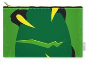 No047 My Jurassic Park Minimal Movie Poster Carry-all Pouch by Chungkong Art