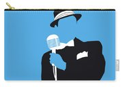 No059 My Sinatra Minimal Music Poster Carry-all Pouch