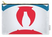 No104 My Ghostbusters Minimal Movie Poster Carry-all Pouch
