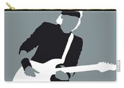 No107 My Mark Knopfler Minimal Music Poster Carry-all Pouch