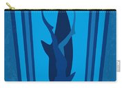 No577 My Big Blue Minimal Movie Poster Carry-all Pouch