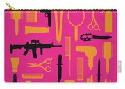 No743 My You Dont Mess With The Zohan Minimal Movie Poster Carry-all Pouch