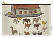 Noah's Ark And Animals Carry-all Pouch
