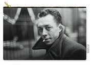 Nobel Prize Winning Writer Albert Camus Unknown Date #2 -2015 Carry-all Pouch