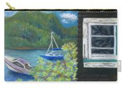 Noble Cottage At The Lake Carry-all Pouch
