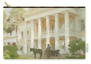 Noble Mansion Of The 19th Century In Russia Carry-all Pouch