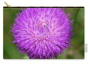Nodding Thistle Close-up Carry-all Pouch