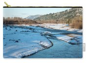 Nooksack River On A December Afternoon Carry-all Pouch