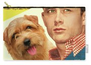 Norfolk Terrier Art Canvas Print - East Of Eden Movie Poster Carry-all Pouch