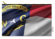 Norh Carolina State Flag Carry-all Pouch