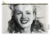 Norma Jean Painting Carry-all Pouch