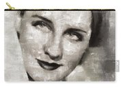 Norma Shearer, Actress Carry-all Pouch