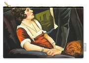 Norma Talmadge In The Probation Wife 1919 Carry-all Pouch