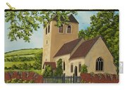 Norman Church In Fingest Carry-all Pouch