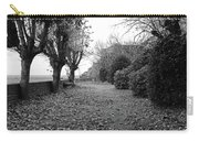 Normandy Black And White Carry-all Pouch