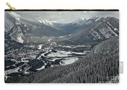 Norquay Banff Town Views Carry-all Pouch