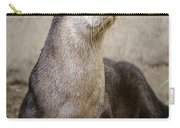 North American Otter Nature Girl Carry-all Pouch