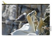 North Atlantic Gannets Carry-all Pouch