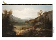 North Carolina Mountain Landscape Carry-all Pouch