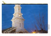 North Church At Twilight, Portsmouth, New Hampshire Carry-all Pouch