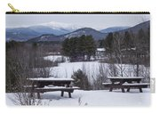 North Conway Winter Mountains Carry-all Pouch