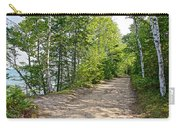 North Country Trail In Pictured Rocks National Lakeshore-michigan  Carry-all Pouch
