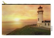 North Head Lighthouse At Sunset Carry-all Pouch
