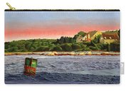 North River At Sunset Carry-all Pouch