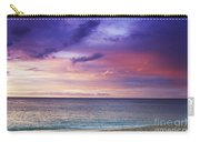 North Shore Beach Sunset Carry-all Pouch