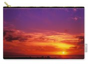 North Shore Sunset Carry-all Pouch