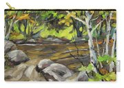 Northerm Stream Woodland Created By Richard T Pranke Carry-all Pouch