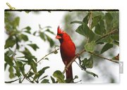 Northern Cardinal - In The Wind Carry-all Pouch