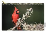 Northern Cardinal In Repose Carry-all Pouch