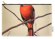 Northern Cardinal Profile Carry-all Pouch